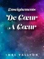 Enseignements De Cœur À Cœur (ebook)