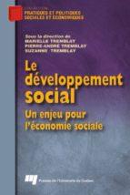 Le développement social (ebook)
