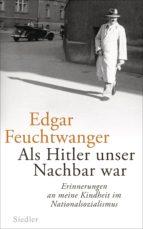 Als Hitler unser Nachbar war (ebook)