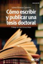 Como escribir y publicar tesis (ebook)