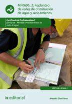 Replanteo de redes de distribución de agua y saneamiento. ENAT0108 (ebook)