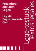 PROZEDURA ZIBILAREN LEGEA/LEY DE ENJUICIAMIENTO CIVIL