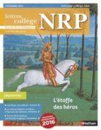 NRP COLLÈGE - L'ÉTOFFE DES HÉROS - NOVEMBRE 2016 (FORMAT PDF)