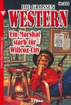 Die großen Western 233 (ebook)