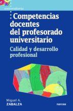 Competencias docentes del profesorado universitario (ebook)