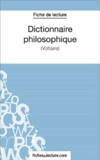 Dictionnaire philosophique (ebook)