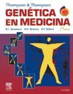 THOMPSON & THOMPSON. Genética en medicina + Student Consult (ebook)