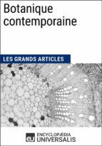 Botanique contemporaine (ebook)