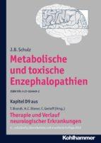 Metabolische und toxische Enzephalopathien (ebook)