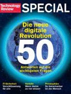 Die neue Digitale Revolution (Technology Review) (ebook)