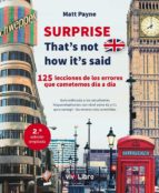 SURPRISE That´s not how it´s said (eBook)