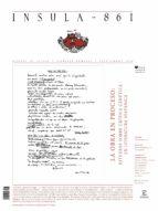 La obra en proceso: estudio de crítica genética en literatura hispánica (ebook)