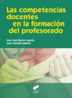 Las competencias docentes en la formación del profesorado (ebook)