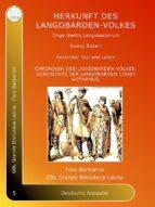 ORIGO Gentis Langobardorum (ebook)