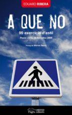 A que no. 99 exercicis d'estil (ebook)