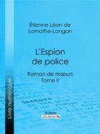 L'Espion de police (ebook)