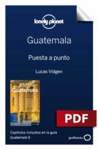GUATEMALA 6. PREPARACIÓN DEL VIAJE
