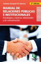 Manual de relaciones públicas e institucionales (ebook)