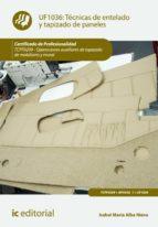 Técnicas de entelado y tapizado de paneles. TCPF0209