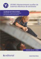 Mantenimiento auxiliar de sistemas eléctricos de aeronaves. TMVO0109 (ebook)