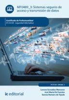 Sistemas seguros de acceso y transmisión de datos. IFCT0109