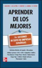 EBOOK-Aprender de los mejores. 16 lecciones de éxito de empresas españolas. (ebook)