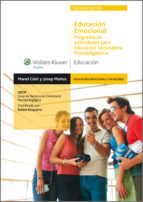 Educación emocional. Programa para Educación Secundaria Postobligatoria