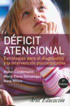 Déficit atencional (ebook)