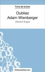 Oubliez Adam Wienberger (ebook)