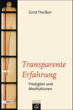 Transparente Erfahrung (ebook)