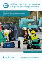 Emergencias sanitarias y dispositivos de riesgo previsible. SANT0108