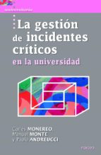 La gestión de incidentes críticos en la Universidad (ebook)