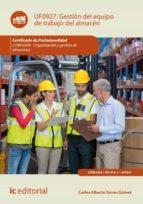 Gestión del equipo de trabajo del almacén. COML0309