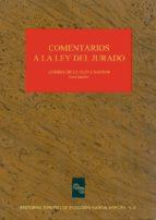 COMENTARIOS A LA LEY DEL JURADO