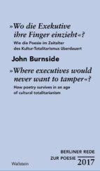 »Wo die Exekutive ihre Finger einzieht«?/»Where executives would never want to tamper«? (ebook)