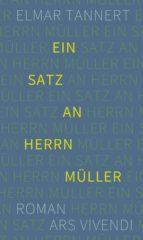 Ein Satz an Herrn Müller (ebook)