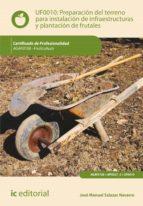 Preparación del terreno para la instalación de infraestructuras y plantación de frutales. AGAF0108