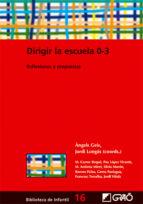 Dirigir la escuela 0-3 (ebook)
