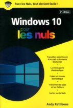 Windows 10 Poche Pour les Nuls, 2e (ebook)