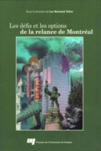 Les défis et les options de la relance de Montréal (ebook)