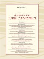 Ephemerides Iuris Canonici (ebook)