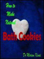 How to Make Natural Bath Cookies