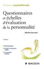 Questionnaires et échelles d'évaluation de la personnalité (ebook)