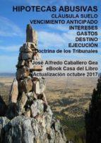 HIPOTECAS ABUSIVAS. CLÁUSULAS SUELO, VENCIMIENTO ANTICIPADO, INTERESES, GASTOS. EJECUCIÓN (ebook)