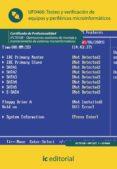 Testeo y verificación de equipos y periféricos microinformáticos. IFCT0108