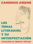 Los temas literarios y su interpretación (ebook)