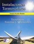INSTALACIONES TERMOSOLARES (ebook)