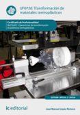 Transformación de materiales termoplásticos. QUIT0209