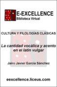 La cantidad vocálica y el acento en el latín vulgar